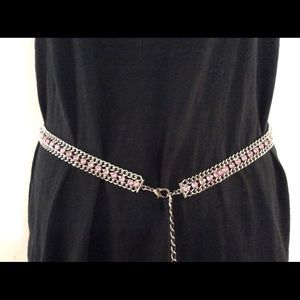 Guess Pink Chain Belt or Necklace
